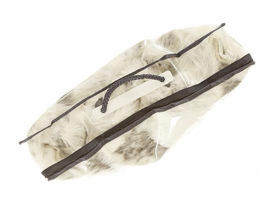 Koc, narzuta na łóżko, kanapę KOZA beżowy 150x200 cm