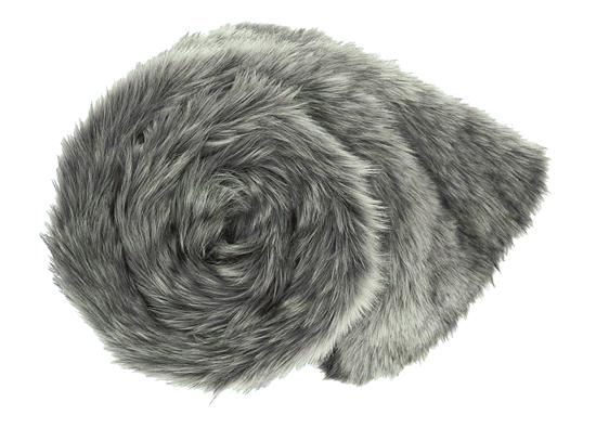 Decorative Faux Fur Set, Bedspread GRANDE PINI brown