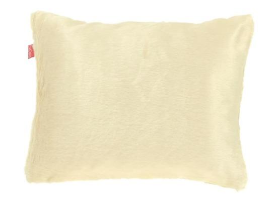 Faux fur pillow MINK cream 40x50 cm
