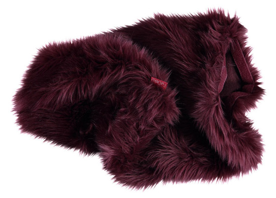 Decorative faux fur pillow SHAGGY