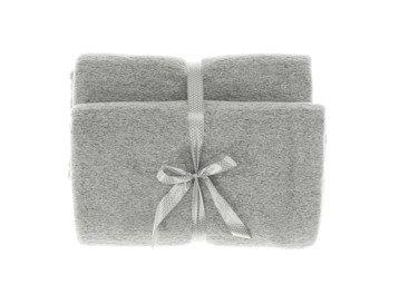 Decorative bedspread, blanket SLOW RODRIGUEZ grey 45x45 cm