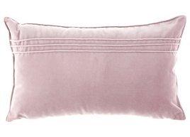 Poduszka Lila Różowa dekoracyjna z aksamitu JULIA