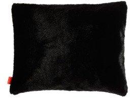 Poduszka dekoracyjna z futra CZARNA PANTERA