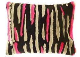 Poduszka dekoracyjna z futra NOCNE FALE
