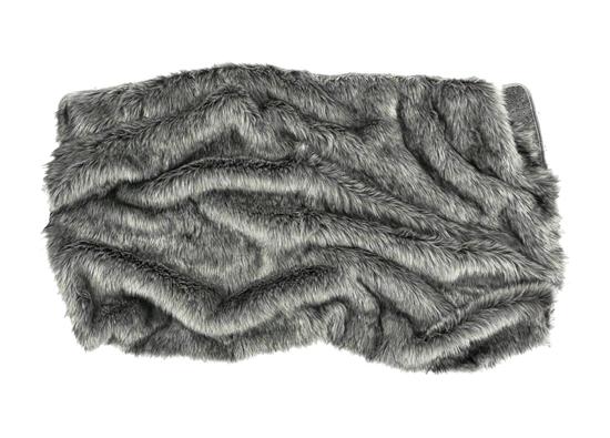 Narzuta dekoracyjna z futra GRANDE PINI